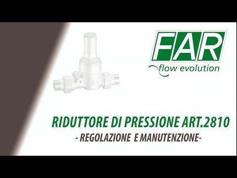 Art. 2810 - Riduttore di pressione per impianti idrosanitari