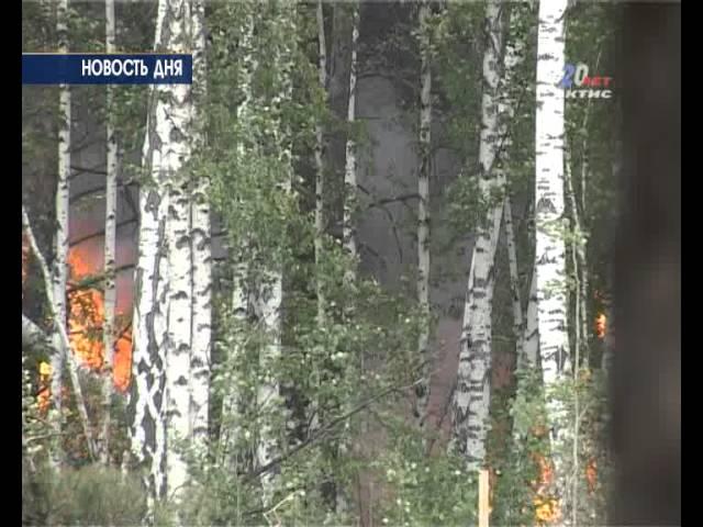 Рядом с Ангарском произошел крупный пожар