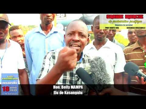 PONT-ROUTE-RAIL KIN-BRAZZA: HON. BELLY MAMPA APESI RAISON OYO BA NE KONGO BABOYI YANGO