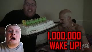 THANKS A MILLION!! (WAKEUP PRANK) BY ANGRY GRANDPA REACTION!!!
