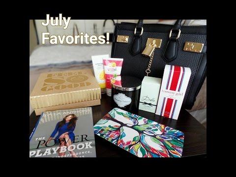 July Favorites!! | Dolce & Gabbana| Aldo| LG G Pad| Queen Allure