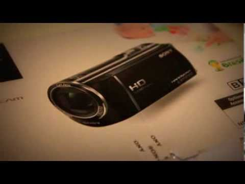 Sony HDR CX-290 Camcorder Unboxing and Overview