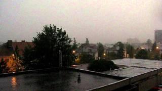 preview picture of video 'Bouřka - Litoměřice 26.5.2011 20:44 - 20:55'