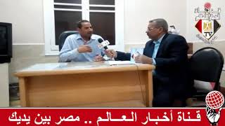 مدير بيت ثقافة منفلوط و الاعلامى سيد عبد الحفيظ برنامج رسالة من الصعيد