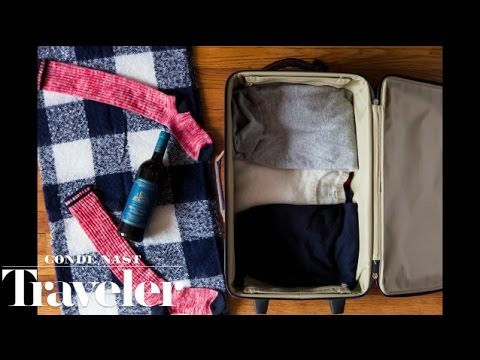 The Easiest Way To Pack A Bottle Of Wine In A Suitcase