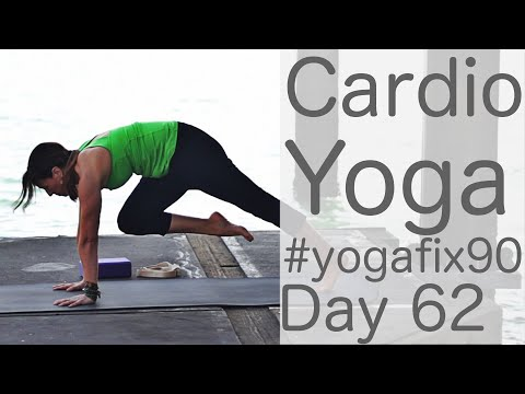 30 Minute Yoga HIIT Workout! (Cardio Workout) Day 30 Yoga
