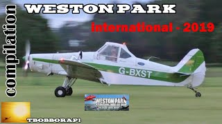 WESTON PARK INTERNATIONAL - 2019 RC FLIGHTLINE COMPILATION # 5 - GIANT SCALE MODELS IN THE UK