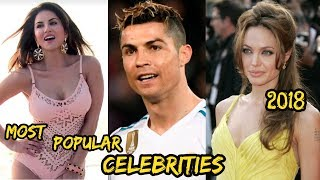 Top 10 Most Famous Persons & Celebrities In The World