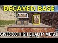Download Video Decayed Base and Silent Raid Gives Insane Jackpot Loot - Rust Solo Survival Gameplay