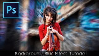 Photoshop CS6 Tutorial• Awesome Blur Effect