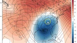European Weather Model on Storm Signals for Next Week