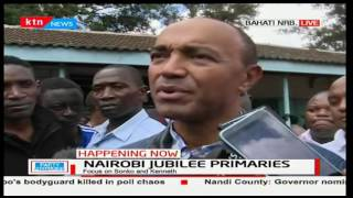 Aspirant Peter Kenneth accuses Elections officials of not sticking to the Jubilee rules