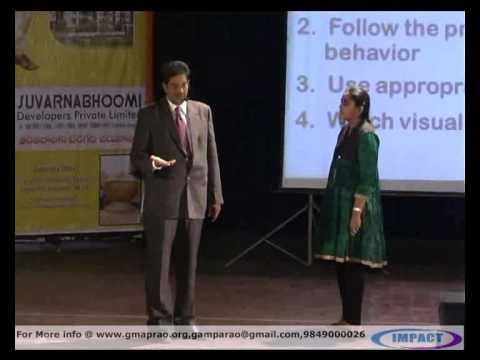 Etiquette| Rumy Sharma |TELUGU IMPACT Hyd 2012