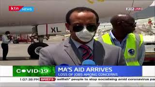 Chinese Billionaire Jack Ma's aid arrives in Kenya