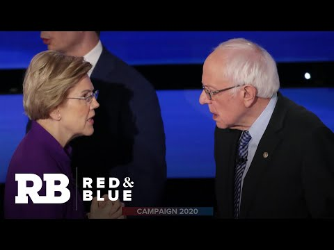 Tensions between Warren and Sanders dominate final debate before Iowa caucuses