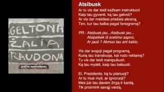 "Video thumbnail of ""Andrius Mamontovas - Atsibusk"""