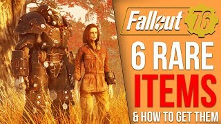 6 Rare Items You Probably Missed in Fallout 76