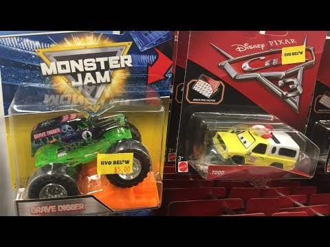 Off The Pegs Clean Todd! Disney Pixar Cars Todd The Pizza Planet Truck Five Below In-store Video