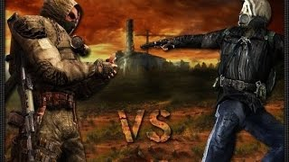 Сталкеры VS Бандиты (Бой за Жизнь в Зоне)