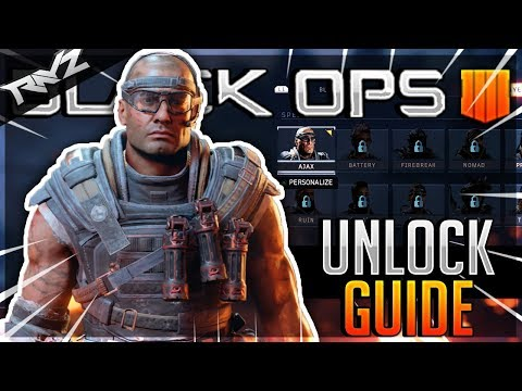 how to unlock the numbers outfit on black ops 4