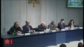 "Press Conference to present the event ""Economy of Francesco"" 2019-05-14"
