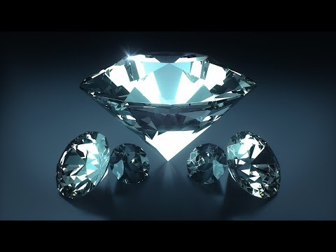 C4D Diamond [Fastest Way] – Cinema 4D Tutorial (Free Project)