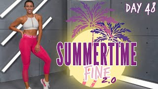 60 Minute Cardio Bootcamp Workout | Summertime Fine 2.0 - Day 48