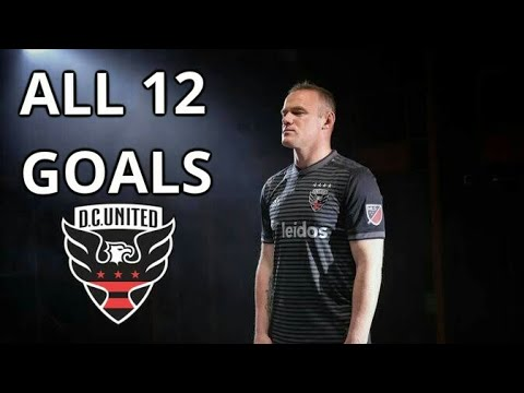 Wayne Rooney Record 12 Goals for DC United 2018