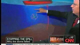 Deepwater Horizon Oil Spill - Containment Dome Failed