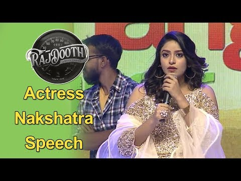 heroine-nakshatra-at-raj-dooth-movie-pre-release-event