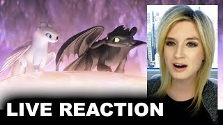 How to Train Your Dragon 3 Trailer 2 REACTION