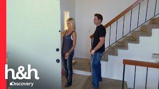 Una casa con una distribución muy rara | Rescatando Propiedades | Discovery H&H