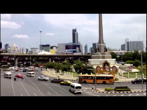 Victory Monument - Bangkok 2015 Short Clip (Khosiab Channel)