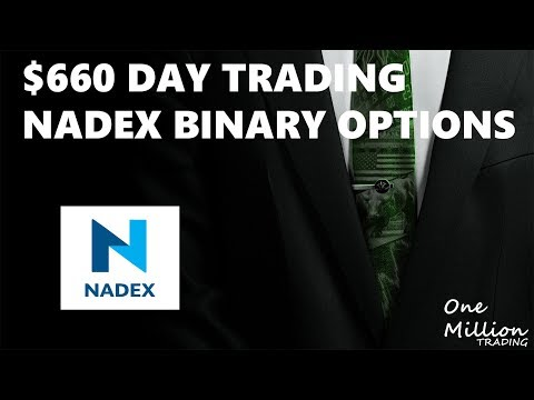 $660 DAY TRADING 5 MIN BINARY ON NADEX || One Million Trading