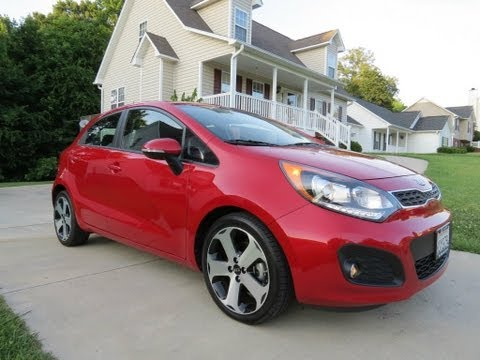 2012 Kia Rio SX Hatchback Start Up, Exhaust, Test Drive, and In Depth Review