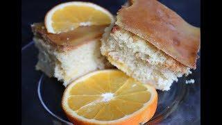 Сочный апельсиновый пирог/Рецепт от турецкой подружки