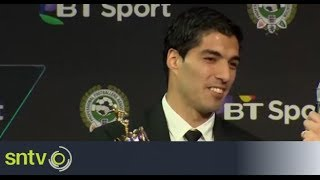 Luis Suarez named PFA Player of the Year