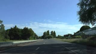 preview picture of video 'Driving On The D786 From Étables sur Mer Through Binic To Plérin, Brittany, France 30th May 2014'