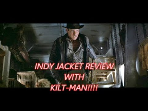 00be43c1d676d Hat Grab. INDIANA JONES JACKET (WESTED) REVIEW - WITH KILT-MAN!
