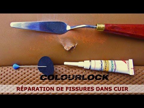comment reparer cuir dechiré