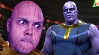 I made thanos fight EVERYONE in WWE 2K19