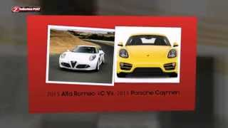 preview picture of video '2015 Alfa Romeo 4C Vs. 2015 Porsche Caymen – Somerville FIAT Dealer'