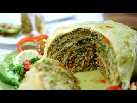 Լազանյա - Lasagna Roll Ups Recipe - Heghineh Cooking Show in Armenian