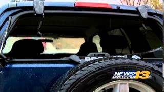 Teen says car vandalized during near riot at carnivals