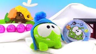 Видео для детей - Ам Ням нашел новую игрушку