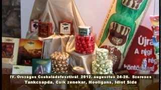 preview picture of video 'Csokoládé Fesztivál 2012 - Szerencs'