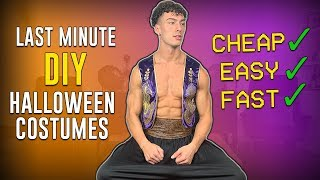 Last Minute DIY Halloween Costumes For MEN 2019 (CHEAP & EASY)