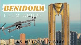 Spectacular Benidorm From Above