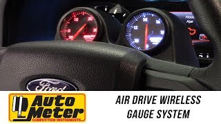 In the Garage™ with Performance Corner™: AutoMeter Air Drive Wireless Gauge System