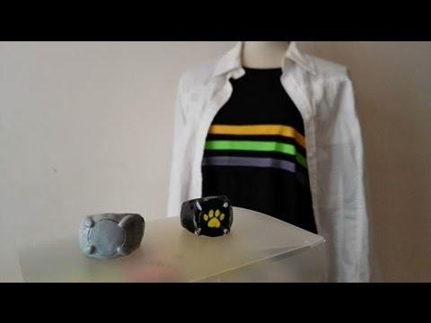 Haciendo la camiseta y los anillos de Adrien/Chat Noir!! -Cosplay